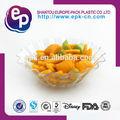 novo design de grau alimentício forma de flor bacia plástica lfgb fda bpa free