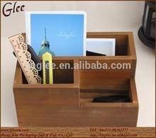 home decorate handmade wooden CD display box