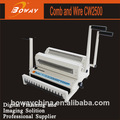 boway servicio fabricación de oficina de hierro anillo de goma del anillo en 2 doble máquina obligatoria de alambre