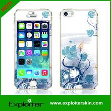 Beautiful custom gel anti slip phone stickers for iphone sticker skin