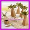 Palm Tree with Multi-dimensional Detai Wedding Favor box