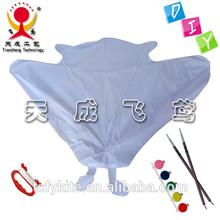 DIY plain kids kite ,drawing kite , children flying kite