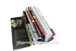 Wholesale custom paper color design printing magazine