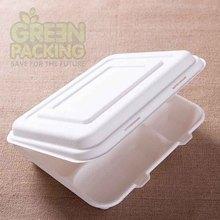 Sugarcane fiber biodegradable disposable frozen chicken leg quarters in box