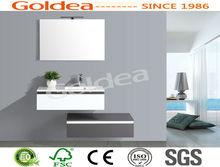 2012 New design double sink bathroom furniture