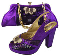 Exclusive Classic Traditional Butterfly Pattern Design Shoes and Matching Bag,