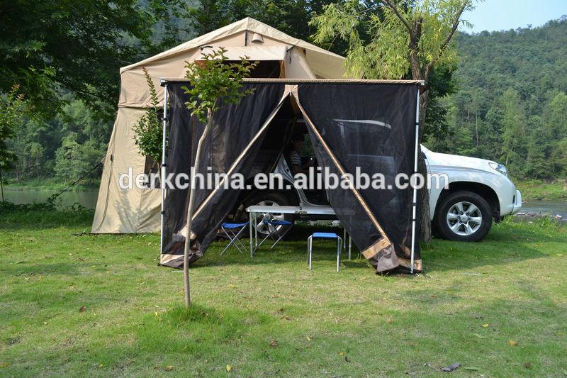 4x4 gölgelik araba çadır açılır