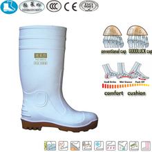 47 white yellow cheap rubber rain boots wholesale PVC safety boot
