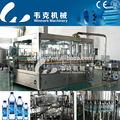 de agua potable completa de la planta de embotellado