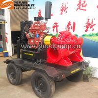Trailer Mounted Pump with Diesel Engine, diesel engine trailer mounted water pump