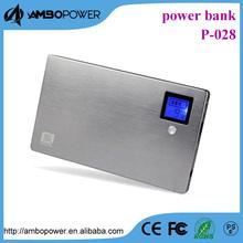 20000mah polymer ultra slim external power bank for lenovo