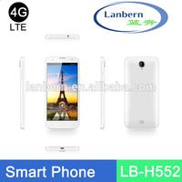 OEM New product Hotknot 4g lte fdd Smart Phone Quad core GMS License phone unlocked no brand smart phone LB-H552