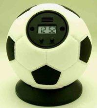 throw out football clock alarm clock