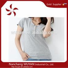 wholesale factory cheap blank short women t shirt