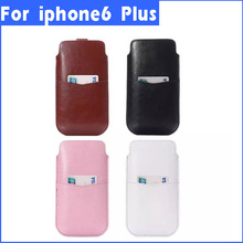Mobile phone accessories Mobile phone pouch for iphone 6 plus 5.5 inch