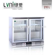 2 door mini bar ,mini bar fridge thermostat,table mini refrigerator