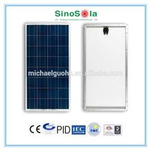 solar panel plastic with TUV/IEC61215/IEC61730/CEC/CE/PID