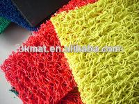 Laiwu manufacturer PVC coil carpet without backing Vinyl Loop floor mat