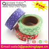 colorful washi tape rice paper,decorative washi paper tape with good quality SGS