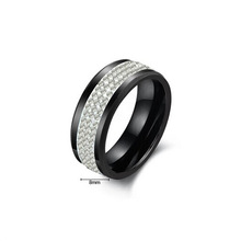 Latest fashion middle east wedding rings for men (ER-040)