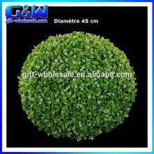 45cm erba artificiale topiaria bosso palla per il giardino decorazione piante