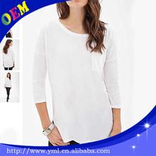 woman tshirt white oversized wholesale
