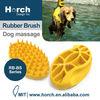 Grooming pet washing brush pet rubber brush rubber brush dog
