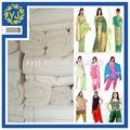 llanura tela sari tela gris venta al por mayor de china