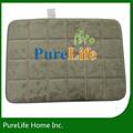 purelife papel de tapetes de carro elétrico com piso aquecido para tapetes de banheiro impermeável floor mats