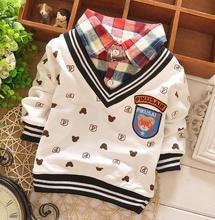 Alibaba fashion children tops spring/autumn/winter long sleeve kids fashion boy's t shirt