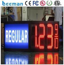 rs232 led digit timer display large hq led digital timer led fuel/oil price display