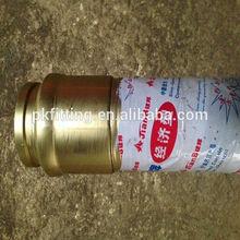DN80*3m ruber hose for concrete pump truck/end rubber hose
