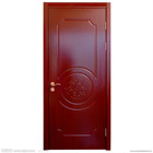 solid wood single door design