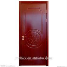 solid wood single door design