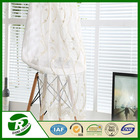 Chinese cheap tulle embroidery lace curtains for Living room curtains decoration