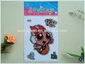 de dibujos animados las chicas superpoderosas decorativos de pvc etiqueta de la pared