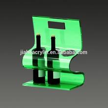 Customized Green wall mounted hanging wine glass rack