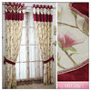 Waverly Imperial Dress Window Treatments ,window cotton curtain,100% Polyester Material Curtain ,