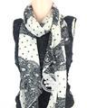 girasole mietitrice sciarpa con cappuccio modello proprio disegno sciarpa di seta sciarpe fatte a mano psp1105