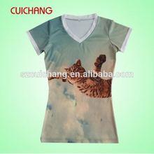 fashion screen print t shirts,top fashion girl t shirt,girl t shirts printed designs LL-10