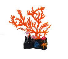Aquarium Artificial Fake soft Red Branch Coral Plant Fish Tank Ornament
