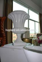 wholesale artificial art ceramics,fiberglass for wedding decoration