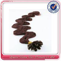 Credible Supplier 1 Piece MOQ Pre Glued Hair Extension