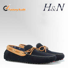 2014 fashion leather men comfortable leisure shoes