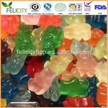 Health Pectin/gelatin gummy candy
