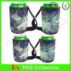 neoprene drink holer beer bottle cooler holder with handle