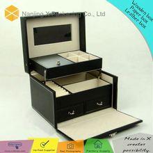 Promotiomal gift X-175 personalized black lacquer jewelry box