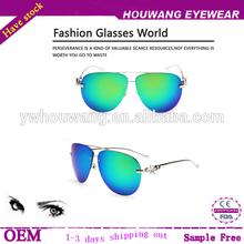 2014 UV 400 polarized sunglasses golden temple fashion fox head temple