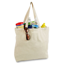 Best Selling!! Factory Sale plain white cotton canvas tote bag