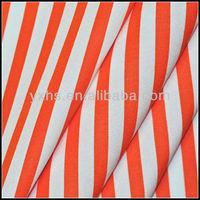 Yarn dyed 97 cotton 3 spandex stretch fabric
